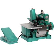 Máquina de Costura Overlock Overloque Semi Industrial Portátil Importway IWMC-5062 Verde 220V -