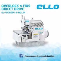 Máquina de Costura Ponto Cadeia 4 Fios c/ Motor Direct Drive - Ello