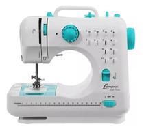 Máquina De Costura Portátil 12 Pontos Bivolt - 2 Velocidades - Costura Rversa - Lenoxx Psm101 -