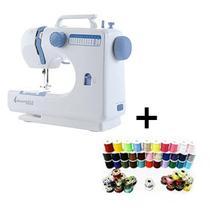 Máquina De Costura Profissional - Steammax -12 Pontos Bivolt Com kit costura 60 Peças -