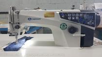 Máquina de Costura Reta Eletrônica Sansei SA-MQ4 -TC - 220 vlts COM KIT DE CALCADORES -