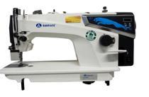 Máquina de Costura Reta Industrial c/ Direct Drive, 1 Agulha, 2 Fios, Transp. Simples, Lubrif. Automática, Lanç. Pequena, SA-MQ1 - Sansei