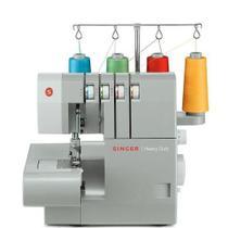 Máquina de Costura Singer Portátil Ultralock 14HD854 Cinza -