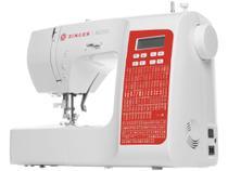 Máquina de Costura Singer SC220 RD Portátil - Eletrônica 200 Pontos -
