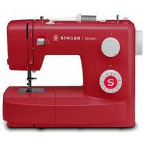 Máquina de Costura Singer Simple 3223By Vermelho 220V -