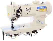 Maquina de costura transporte triplo 2 agulhas sansei sa-1560 - bivolt -