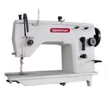 Máquina de Costura Zig Zag Semi-Industrial, 2 Pontos, Base Plana, Lubrif. Automática, Lanç. Pequena, Transp. Simples, 5000ppm, W457IL - Westman
