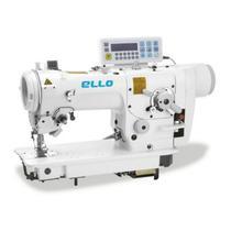 Maquina de costura ziguezague eletronica 2 e 3 pontinhos ello el-2284d-7p - 220 v -