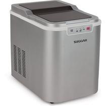 Maquina de gelo suggar mg1501pr prata 127v -