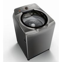 Máquina de Lavar Brastemp 15kg titânio com Ciclo Edredom Especial e Enxágue Anti-Alérgico  BWN15AT 127V -