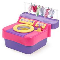 Máquina De Lavar Infantil Lava Lava Com Acessórios Homeplay -