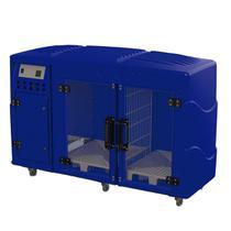 Máquina De Secar Animais Kyklon Rotomoldada Azul -