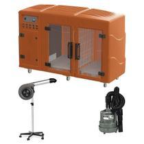 Maquina de Secar Laranja + Secador Maestro e Soprador Maxx Cinza Kyklon -