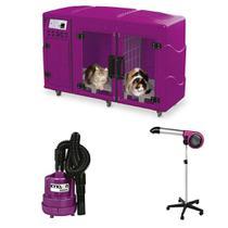 Maquina de Secar + Secador 5000 e Soprador Maxx Kyklon Pink -