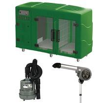 Maquina de Secar Verde + Secador 7000 e Soprador Maxx Cinza Kyklon -