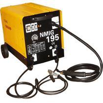 Máquina de Solda 195 Ampéres 60 HZ 220V 5.2KvA Flex Solda Ferro Inox Alumínio - NMIG195 - Nagano