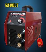Máquina de Solda Fonte Inversora Eletrodo Bivolt Bambozzi A Industrial 241 200a -