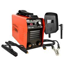 Máquina de Solda Inversora 160A Bivolt 110/220V Display Digital TWI-180 706704 TERRA -