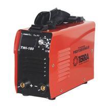 Maquina De Solda Inversora 180a Bivolt Portatil Twi180 Terra + Vareta -