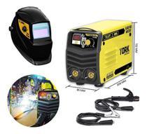 Maquina de solda inversora 180a+ kab solar cim-6180 220v - Super Tork