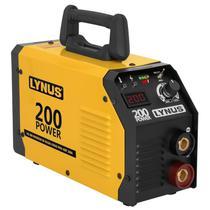 Máquina de Solda Inversora 200A Bivolt LIS 200 LYNUS -