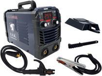 Maquina De Solda Inversora 250 Bivolt Mma Tig Eletrodo Elétrica Portatil Arc Force Usk -