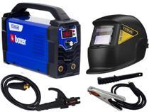 Maquina De Solda Inversora Flama 161 Bv Bivolt Boxer Tig Eletrodo Mma Mascara Automática -