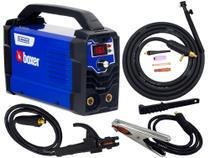 Maquina De Solda Inversora Flama 161 Bv Bivolt Boxer Tocha Tig Eletrodo Mma Profissional -