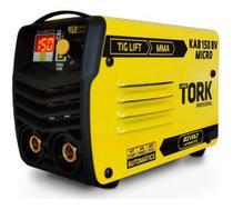Máquina De Solda Inversora Kab 150 Amp Biv Mma Tig Ie-6150 - Tork