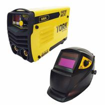 Máquina de Solda Inversora Kab 180 Micro IE 6180 Com Máscara de solda Super Tork -