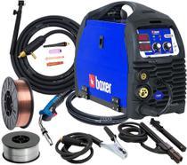 Maquina De Solda Inversora Migflex 160 Bv Bivolt Tig Mma Eletrodo Boxer Tocha Arames -