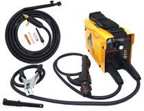 Maquina De Solda Inversora Mini 219 Mma Eletrodo Elétrica Portátil + Tocha Tig King Usk -