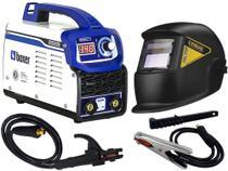 Maquina De Solda Inversora Touch 150 Bv Bivolt Boxer Tig Eletrodo Mma Mascara Automática -