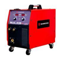 Máquina de Solda Mig Bambozzi MTE 210 Plus Bivolt TIG / MIG / Eletrodo Multiprocesso -