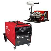 Máquina de Solda MIG/MAG 400A Bambozzi TRR 3410S NMR com Cabeçote Externo 4 Roldanas BAMBOZZI -