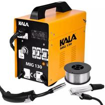 Máquina de Solda Mig sem Gás MIG-130 KALA - Kala