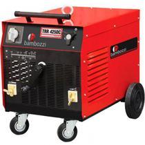 Máquina de Solda Retificadora Trifásica - BAMBOZZI-TRR425DCTRI 220v -