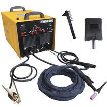Máquina De Solda Tig 250 Ampéres Inversora Ac/dc Alumínio Em Tig - Nwse250 - Nagano Profissional
