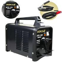 Maquina de solda transformador 150a 110v/220v schulz mts150 -