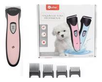 Maquina De Tosa Para Cães Gatos Aparador Pelos Recarregavel - Aiker