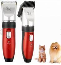 Máquina de Tosa Pet Clipper Cães Bivolt Sem Fio - +Br