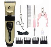 Máquina de Tosa Pet Dog Hair Clipper Machine - Professional