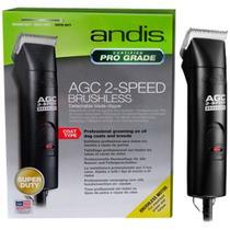 Maquina de tosa profissional andis agc 2-speed brushless voltagem 110/220v bivolt -