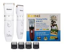 Máquina De Tosa  Profissional Km-x1 Pet Kemei C/ Nota Fiscal -