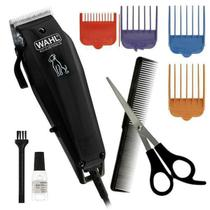 Máquina de Tosa Wahl Basic Dog Grooming Kit 9160-2018 110V - Preto - Whall