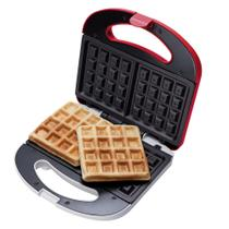 Máquina de Waffles WAF100 Cadence Vermelha -