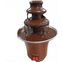 Máquina Fondue Profissional Chocolate Fonte Elétrica 220V - Importador