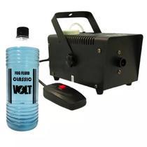 Maquina Fumaça 600w Bivolt Controle Remoto Sem Fio Fluído - Morgadosp