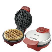 Máquina Golden Waffle Britânia Vermelha 850W -