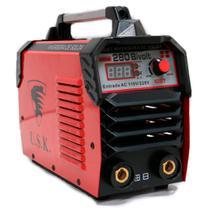Maquina IGBT Inversora de Solda MMA-280 Bivolt USK -